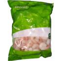 Krevety Vannamei (26/30) vařené loupané s ocáskem, 1kg (800g netto)