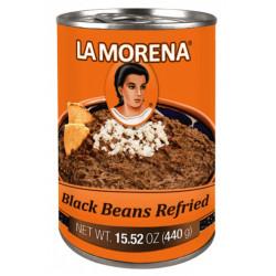 Předsmažená pasta z černých fazolí 440g