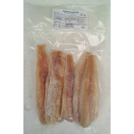 Treska aljašská filety 500g